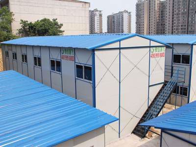 防火型坡顶活动板房