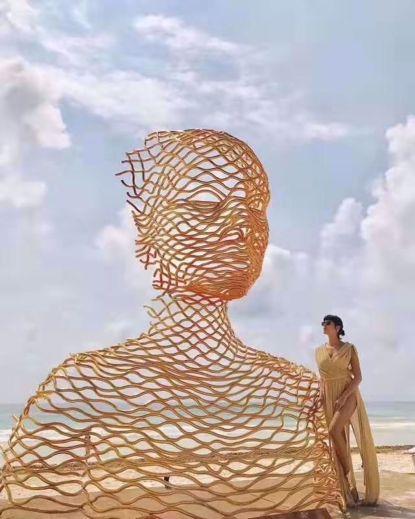 图片 不锈钢雕塑