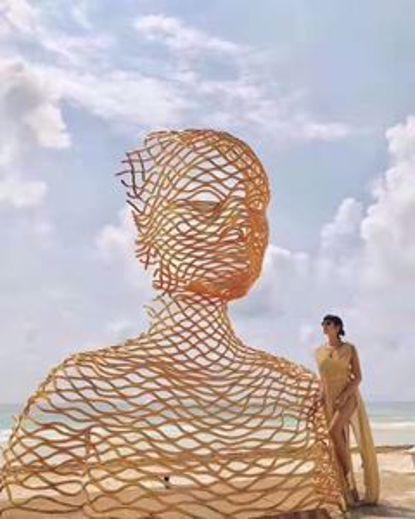 图片 不锈钢雕像